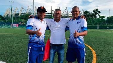 Emerson Acuña, Fernando Reales y Leonardo Rojano.