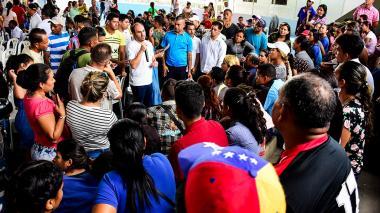 Acnur y OIM visitan Colombia por crisis migratoria venezolana