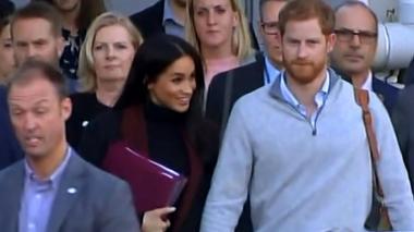 En video | El príncipe Enrique y Meghan Markle anuncian que esperan su primer bebé