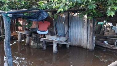 Invierno no cesa en la Costa: río Ariguaní se desborda y deja 118 familias afectadas