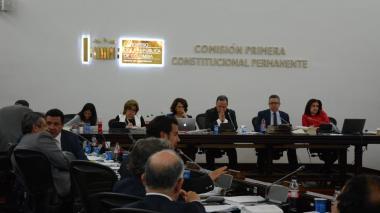 Comisión Primera del Senado.