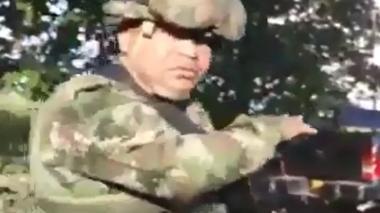 En video | Asonada contra el Ejército en Tibú, Norte de Santander