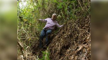 Alcalde Enrique Peñalosa perdido en Cerros Orientales.