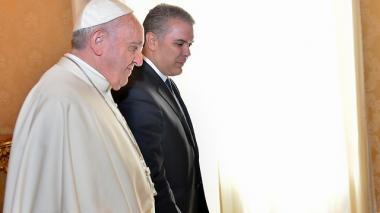 El presidente de la República se pronunció desde Roma donde adelanta una agenda que incluye un encuentro con el papa Francisco en el Vaticano.