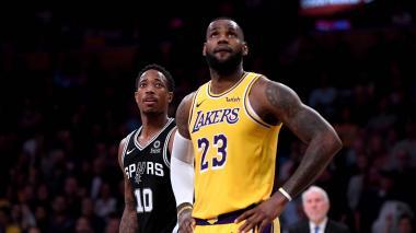 Los Lakers de LeBron James no dan con la tecla