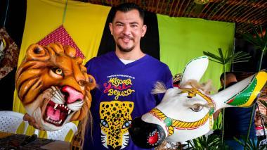 Las artesanías de los galaperos se expondrán en la edición número XII del Festival de Máscara y Bejuco.