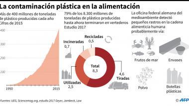 Detectan partículas de plástico en el cuerpo humano