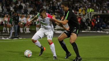 Once Caldas y Nacional empataron en el primer partido de la final de la Copa
