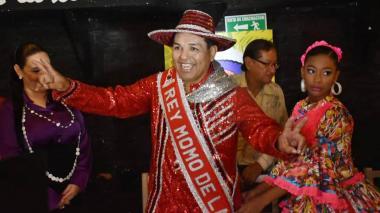 El 'Dripe', el nuevo rey Momo del Carnaval de la 44