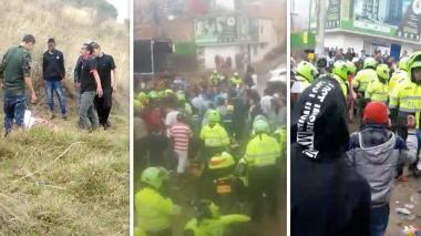 """""""Hombre asesinado por turba en Ciudad Bolívar fue víctima de noticias falsas"""": Policía"""