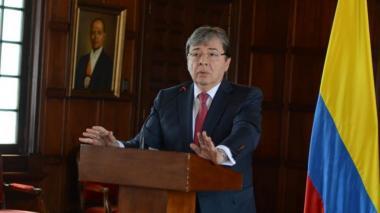 Carlos Holmes Trujillo, canciller de Colombia.