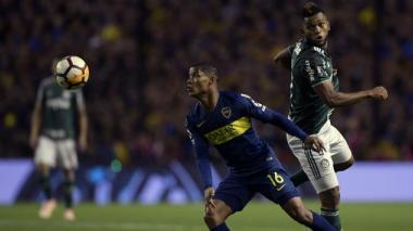 Wílmar Barrios y Miguel Borja volverán a chocar.