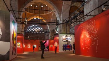 Exposición de las obras de Joan Miró en el año 2013.