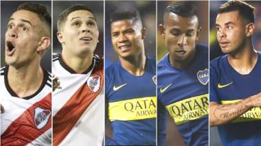 Cinco colombianos estarán disputando la final de la Libertadores