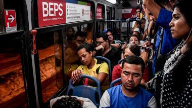 """""""Barranquilla carece de planeación en transporte"""", dicen los usuarios"""