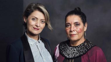 La manta guajira, la protagonista en la gala de los Premios Fénix en México