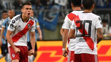 Santos Borré estará condicionado en el primer superclásico