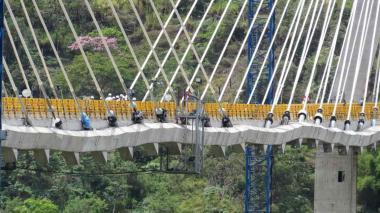 Invías revela anomalías en el puente Hisgaura, en Santander
