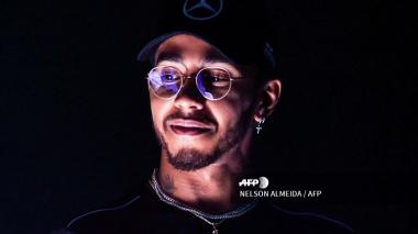Lewis Hamilton, pentacampeón del mundial de F1.