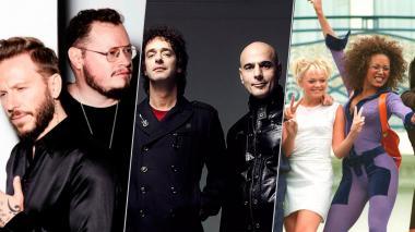 Las Spice Girls, Soda Estereo, Wisin & Yandel y más bandas que fueron del adiós al regreso