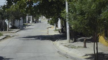 Lugar donde ocurrió el ataque contra Aníbal Acosta.