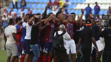 El Unión Magdalena logró el tiqueta a la final de la B. Si hoy el Cúcuta gana el Grupo A, ambos ascenderán.