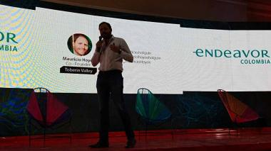 Mauricio Hoyos abre el segundo día de la Semana Global del Emprendimiento