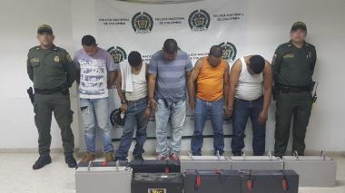 Detenidos por robo de antena de telefonía