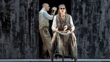 Una de las escenas de la ópera en el Alla Scala.