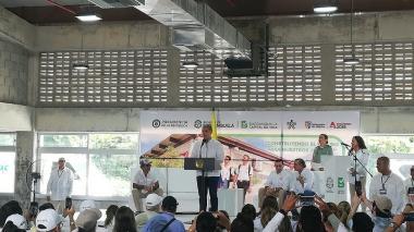Presidente Duque inaugura sede del Sena en Villas de San Pablo