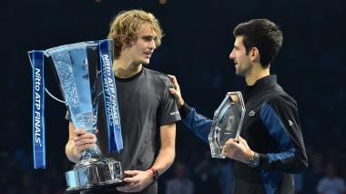 La ATP realiza una comparativa entre Zverev y el 'Big Four'