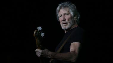 Roger Waters se unió al paro estudiantil durante su concierto en Bogotá
