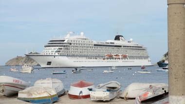 Crucero noruego llegó a Santa Marta con 1.354 turistas