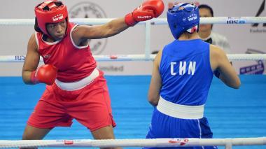 Jessica Caicedo se queda con una medalla de plata histórica en el Mundial de Boxeo