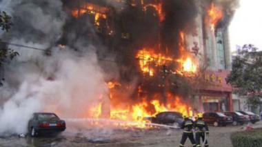 Explosión en fábrica de China deja 2 muertos y casi 60 heridos