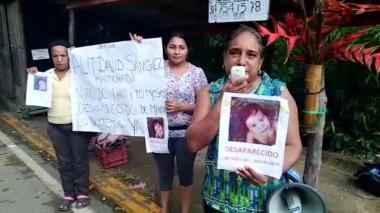 La comunidad de Minca se volcó en búsqueda de Alit David Sánchez.