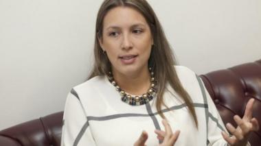 Representante cordobesa Sara Piedrahíta.