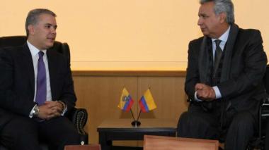 Iván Duque y Lenín Moreno examinarán la seguridad fronteriza