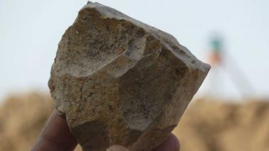Hallan utensilios de piedra de hace 2,4 millones de años