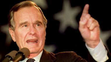 Diez grandes fechas en la vida de George H.W. Bush