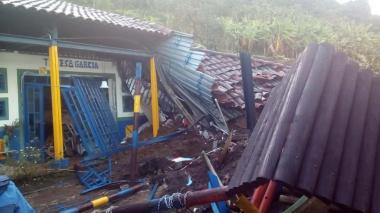 Deslizamiento en Calarcá deja dos personas muertas