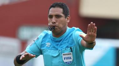 El árbitro central Diego Haro dirigirá el juego entre 'el Tiburón' y 'el Huracán'.
