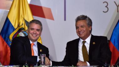 Colombia y Ecuador estrechan acuerdo para mejorar seguridad en la frontera