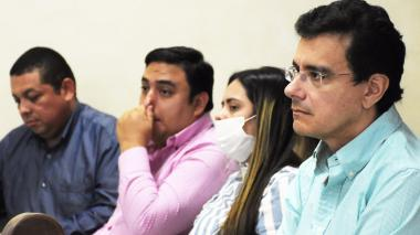 Pedro Sierra, Jesús Pantoja, Cindy Solar y Ramsés Vargas Lamadrid.