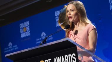 La actriz Leslie Mann anuncia la gala de 2019.