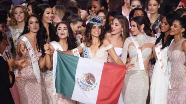 La representante de México es la nueva Miss Mundo 2018