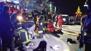 En video | Estampida en medio de pánico en discoteca en Italia: seis muertos