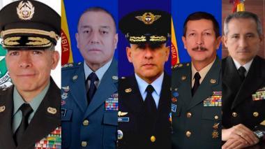 Presidente  hace cambios en cúpulas de FFMM y Policía