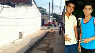 Sitio donde Milton Francisco Reyes Ortega habría apuñalado a su amigo de 16 años.