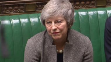 Oposición británica lanza moción de censura contra May por su gestión del Brexit